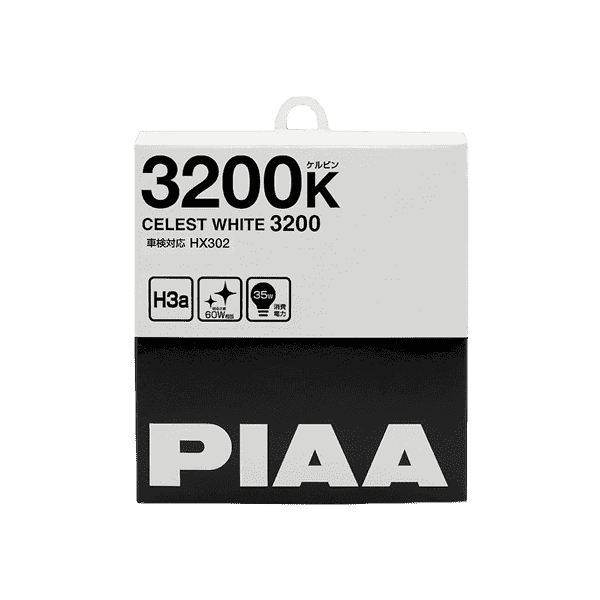 Лампа PIAA BALB CELEST WHITE 3200K (H3a) 2шт
