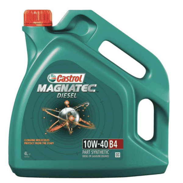 Моторное масло Castrol MAGNATEC DIESEL 10W40 B4 4л
