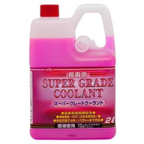 Антифриз KYK SUPER GRADE COOLANT pink -40°C 2л