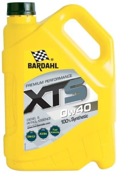 Моторное масло BARDAHL XTS 0W40 SM/CF 5л