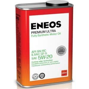 Масло моторное ENEOS 5W20 Premium Ultra SN 0,94л