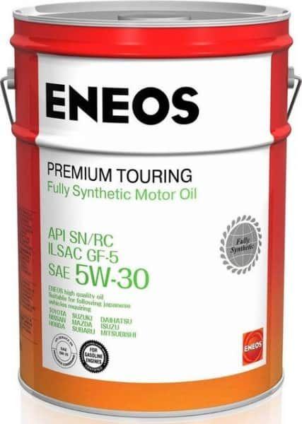 Масло моторное ENEOS 5W-30 Premium TOURING SN  20л