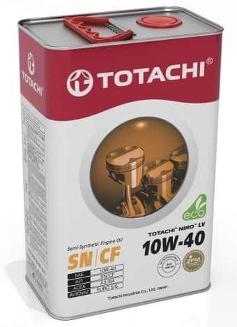 Масло моторное TOTACHI NIRO LV Semi-Synthetic SN 10W40 4л