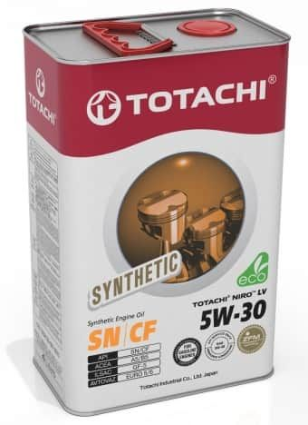 Масло моторное TOTACHI NIRO LV SN Synthetic 5W30 4л