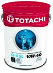 Масло моторное TOTACHI NIRO HD Semi-Synthetic API CI-4 / SL 10W40 19л