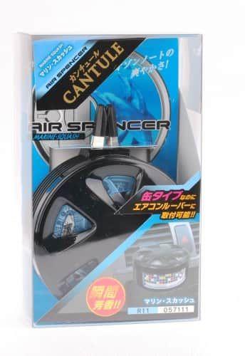 Набор - ароматизатор меловой EIKOSHA + холдер на дефлектор  MARINE SQUASH