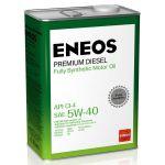Масло моторное ENEOS Premium Diesel CI-4 5W40 4л