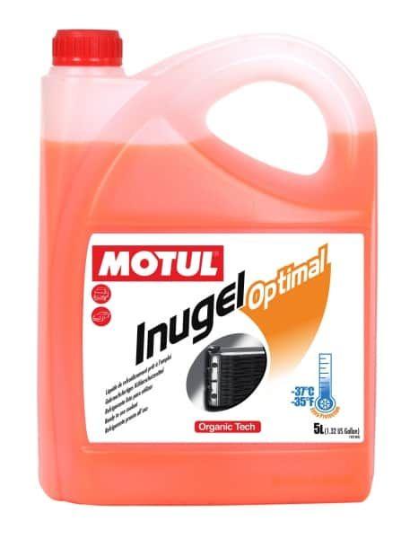 MOTUL Антифриз Inugel Optimal 37 (красный) 5л