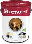 Масло моторное TOTACHI NIRO LV Synthetic SN/CF 5W40 19л