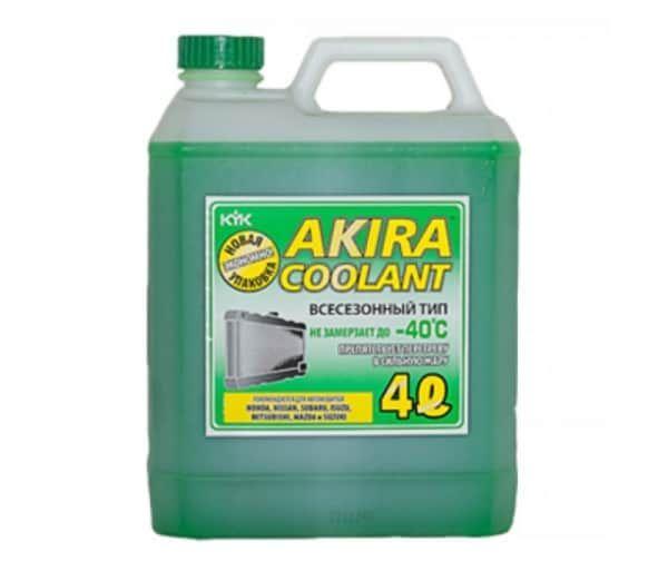 Антифриз  Akira Coolant -40 зеленый  4л